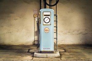 Surtidor de gasolina Shell